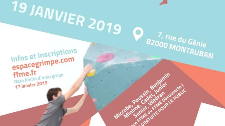 Contest Bloc Espace Grimpe Janvier 2019